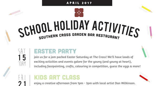 School holidays april website 1