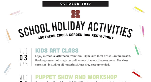October school holidays 2
