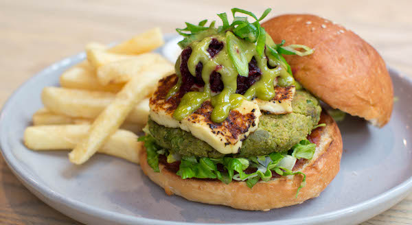 Halloumi burger may 2019